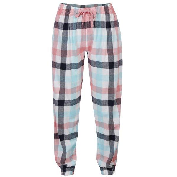 Pantaloni lungi de pijama in carouri Dorothy Perkins