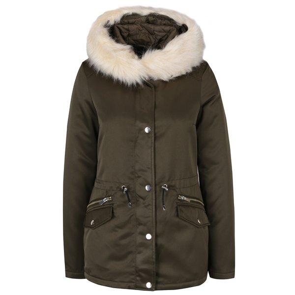 Jachetă parka matlasată kaki Dorothy Perkins