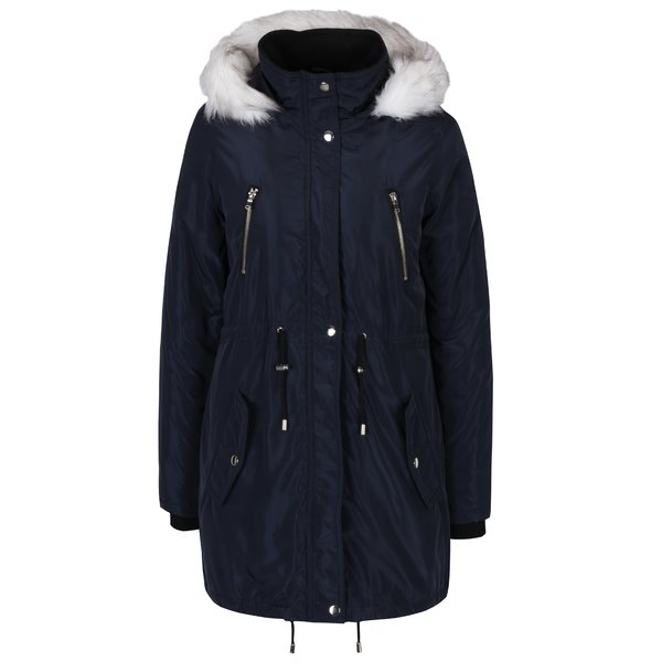 Jachetă bleumarin parka Dorothy Perkins Curve