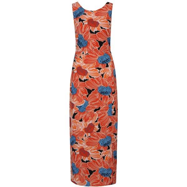 Rochie maxi cu print floral și cordon Dorothy Perkins