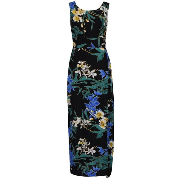 Rochie maxi cu print floral și cordon în talie Dorothy Perkins