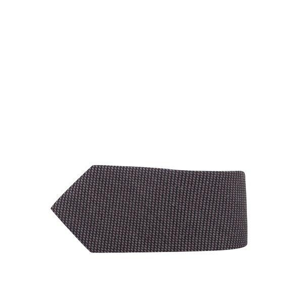 Cravată maro din amestec de lână și mătase - Selected Homme New