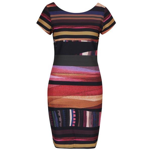 Rochie tubulară cu aspect 2 în 1 multicolora - Desigual Second