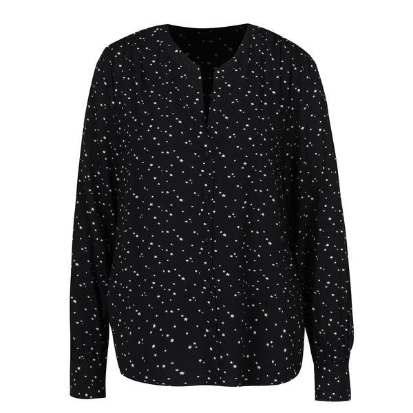 Bluză neagra cu print stelute - ONLY Nova