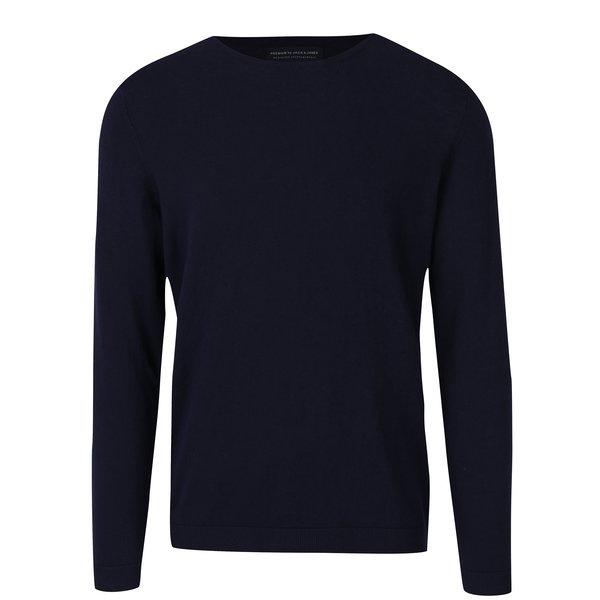 Pulover bleumarin pentru bărbați - Jack & Jones Luke