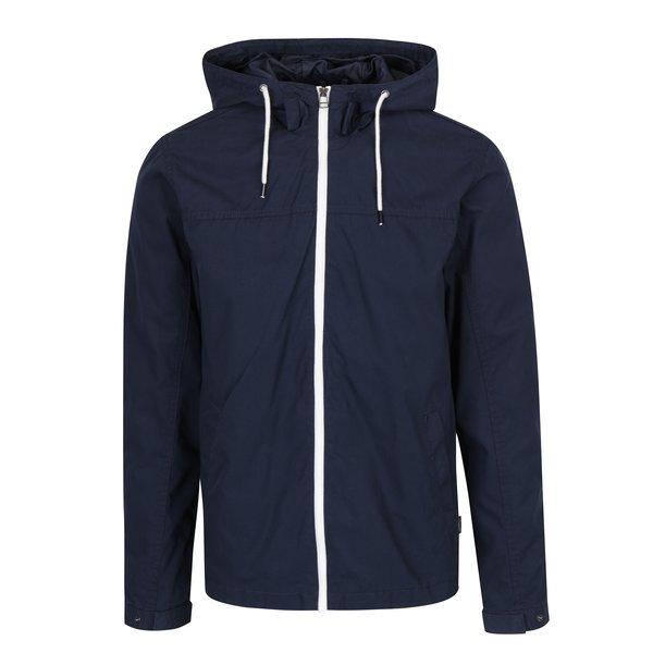 Jachetă bleumarin cu glugă Jack & Jones Floor