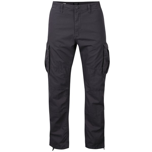 Pantaloni cargo gri închis pentru bărbați - Jack & Jones Anakin