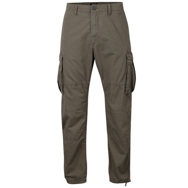 Pantaloni cargo kaki pentru bărbați - Jack & Jones Anakin