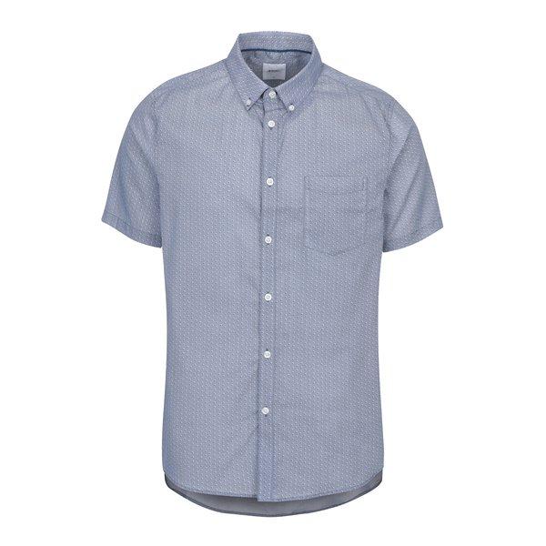Cămașă albastră buttons down din bumbac - Burton Menswear London