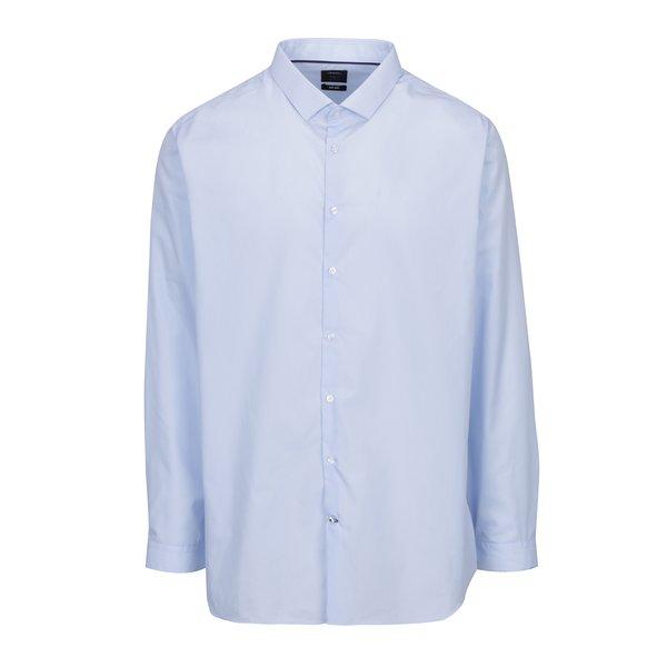 Cămașă slim fit albastru deschis - Burton Menswear London