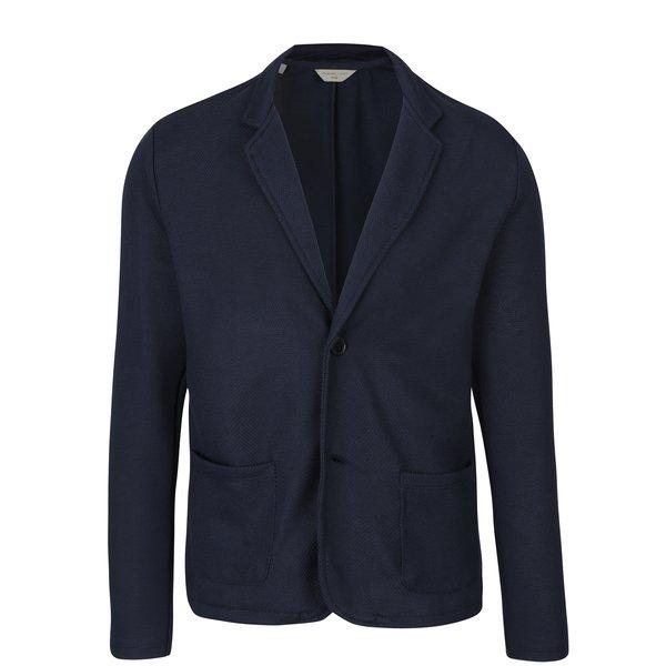 Sacou bleumarin cu revere pentru bărbați - Selected Homme Haw