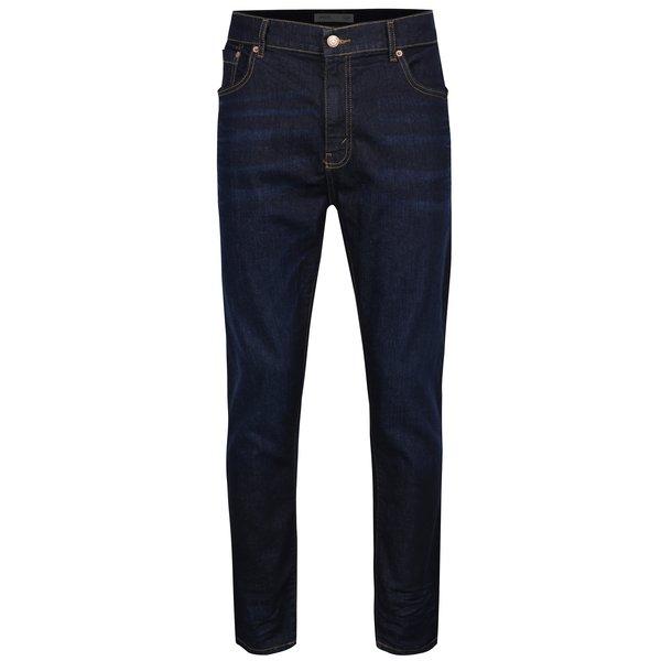 Blugi albastru închis regular - Burton Menswear London