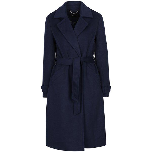 Palton bleumarin cu adaos de lână VERO MODA Jess