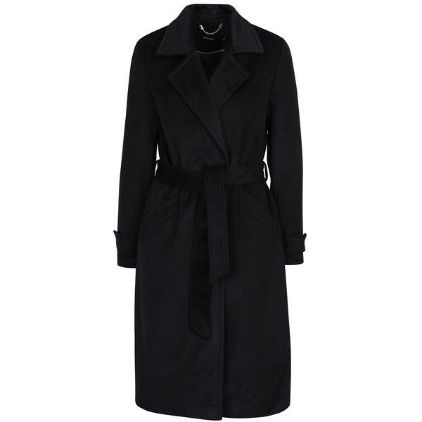 Palton negru cu adaos de lână VERO MODA Jess
