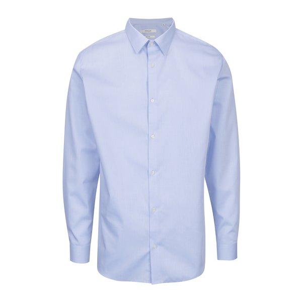 Cămașă slim fit bleu pentru bărbați - Jack & Jones Non