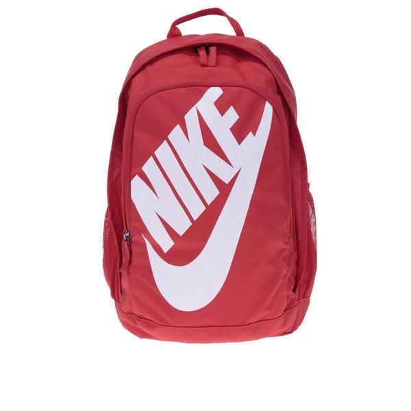 Rucsac roșu cu logo Nike Hayward 25 l