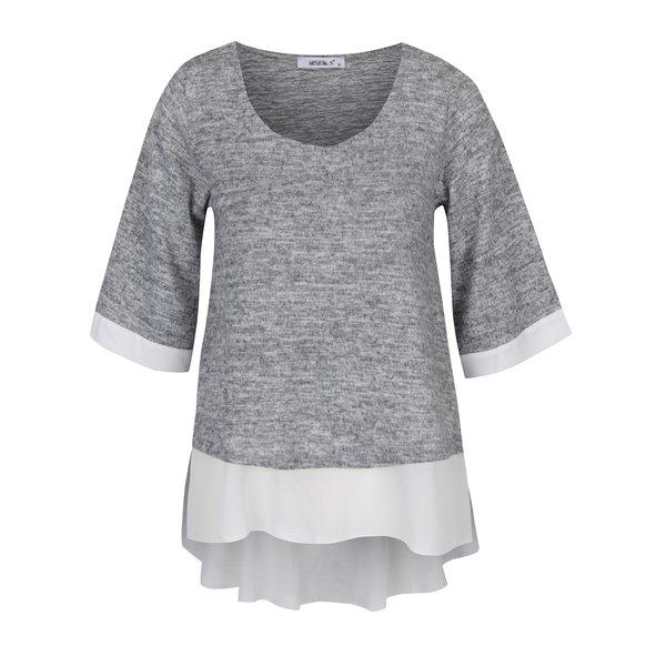 Bluză gri & alb Haily´s Jessica