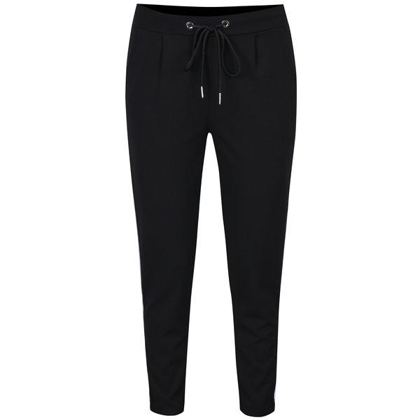 Pantaloni negri cu dungi laterale Haily´s Greta