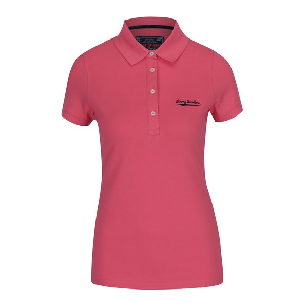 Tricou polo roz pentru femei - Jimmy Sanders