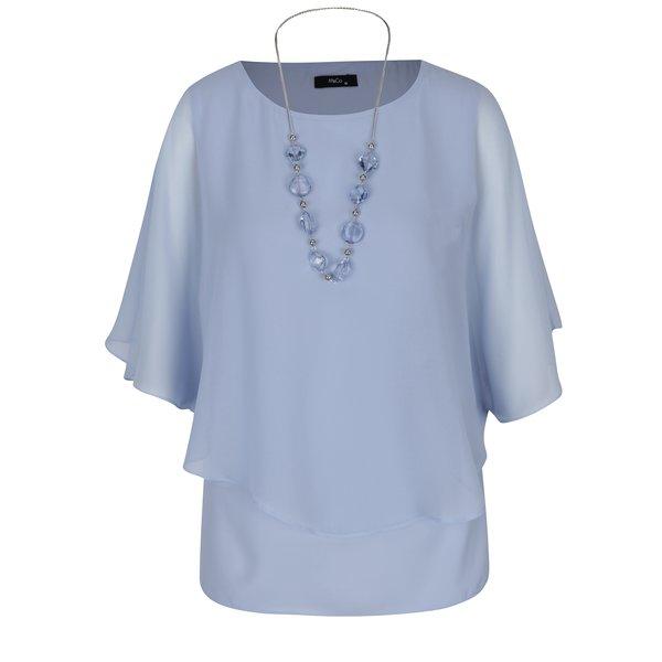 Bluza bleu cu maneci tip liliac – M&Co