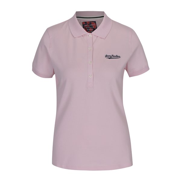 Tricou polo roz pal pentru femei - Jimmy Sanders