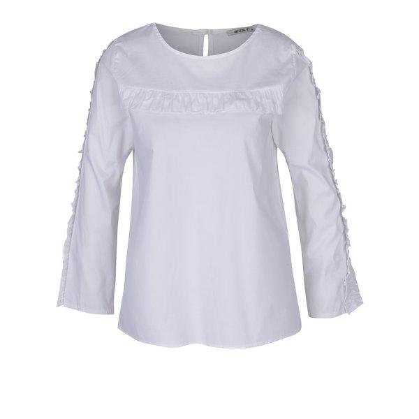 Bluză albă cu mâneci lungi Haily´s Sarina