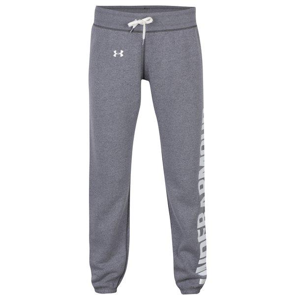 Pantaloni sport gri pentru femei - Under Armour
