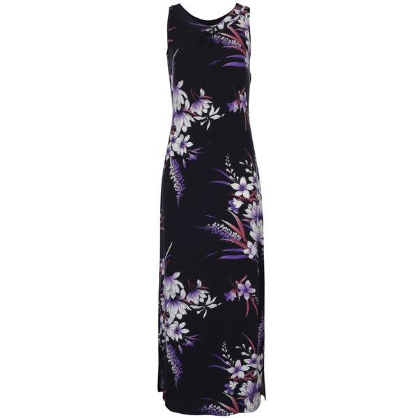 Rochie maxi bleumarin cu imprimeu floral - M&Co