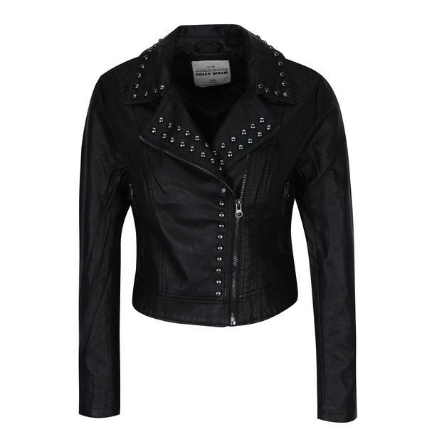 Jachetă neagră cu ținte pe revere- TALLY WEiJL