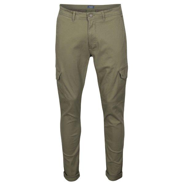 Pantaloni cargo slim fit kaki Blend