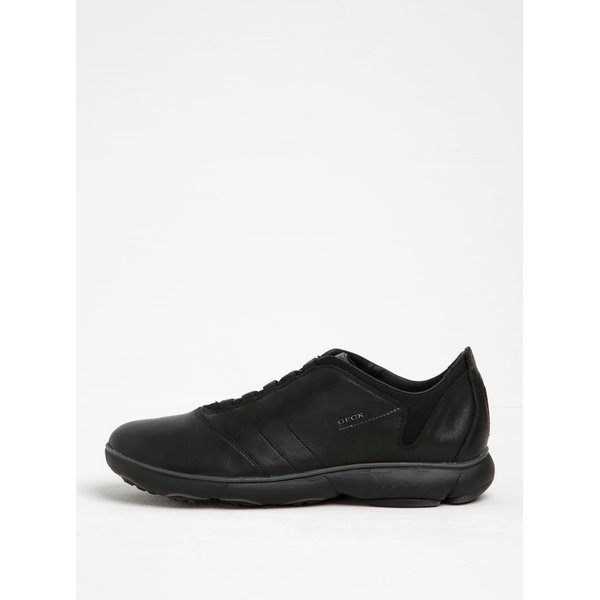 Pantofi sport negri din piele pentru bărbați Geox Nebula B