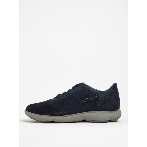 Pantofi sport bleumarin din piele întoarsă Geox Nebula F