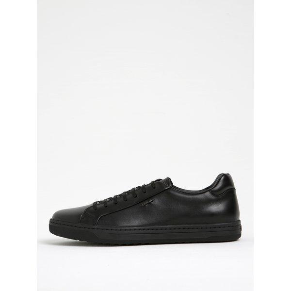 Pantofi sport negri din piele Geox Rikin F