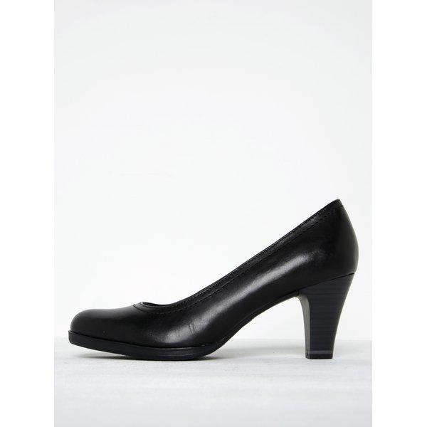 Pantofi negri cu toc mediu - Tamaris