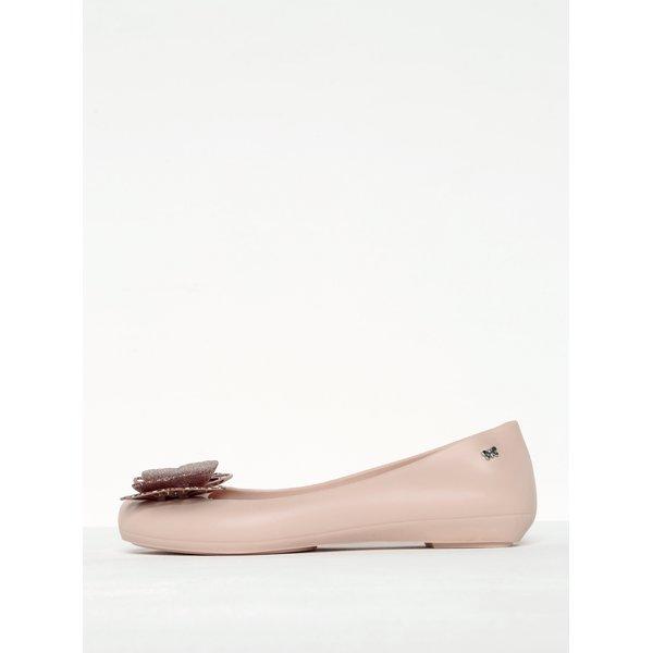 Balerini roz pal parfumați cu fundă tip fluture - Zaxy Butterfly