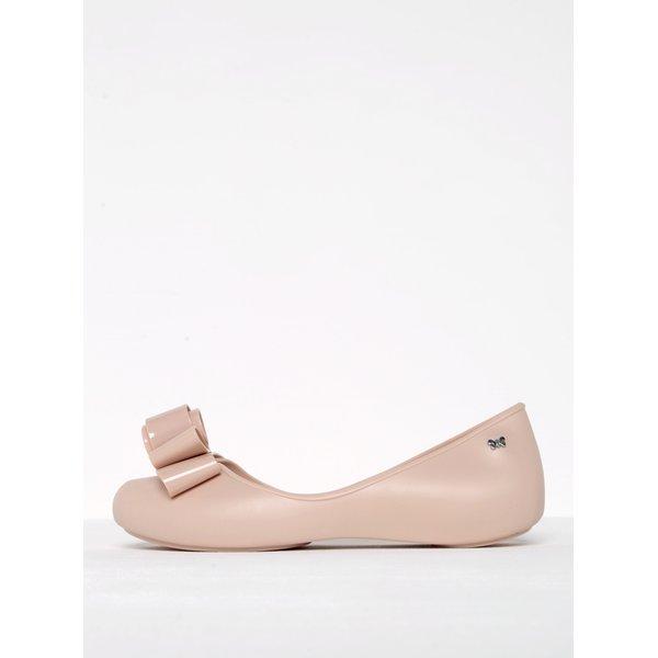 Balerini roz pal din cauciuc parfumat cu varf decupat Zaxy Glam