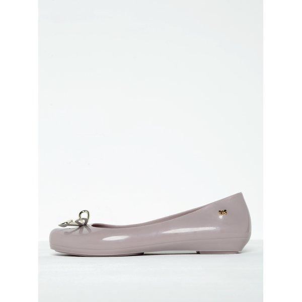 Balerini roz pal din cauciuc parfumat cu funda Zaxy Romantic