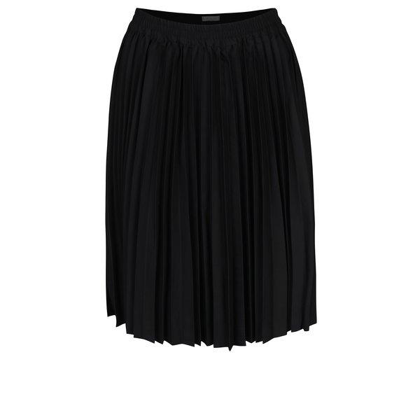 Fustă plisată neagră Selected Femme Kimka