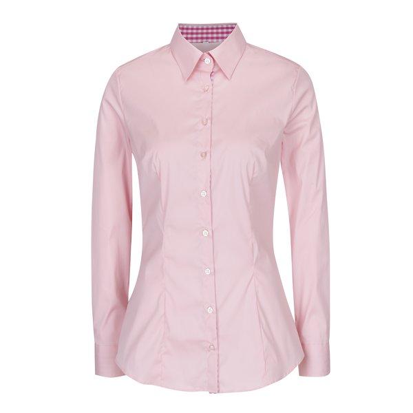Cămașă cambrata roz pentru femei - VAVI