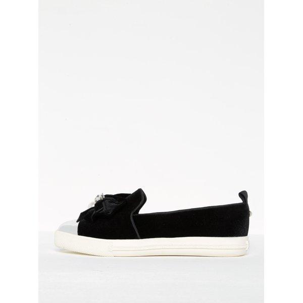 Pantofi loafers cu aplicatii si varf contrastant - Miss KG Lottie