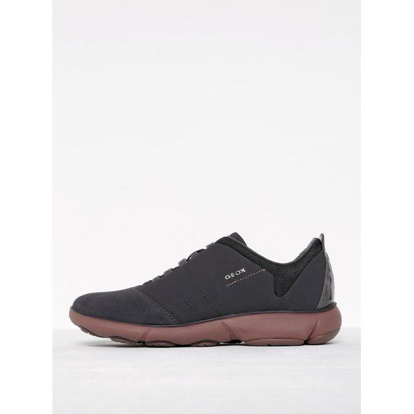 Pantofi sport gri închis pentru femei - Geox Nebula G
