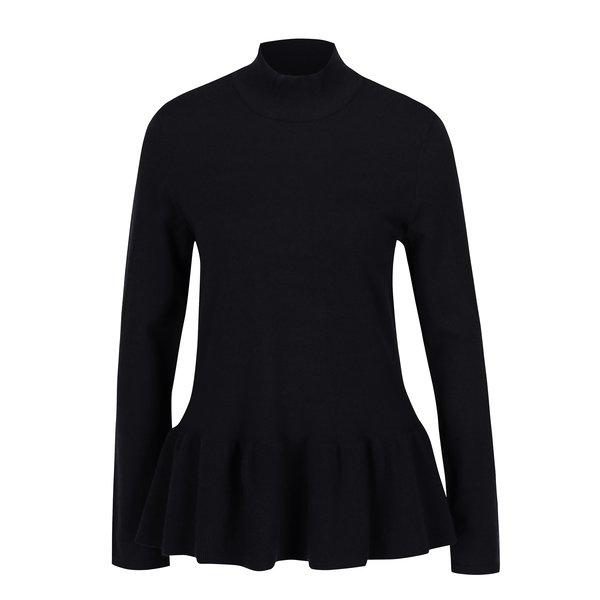 Bluză peplum neagră - VERO MODA Sky