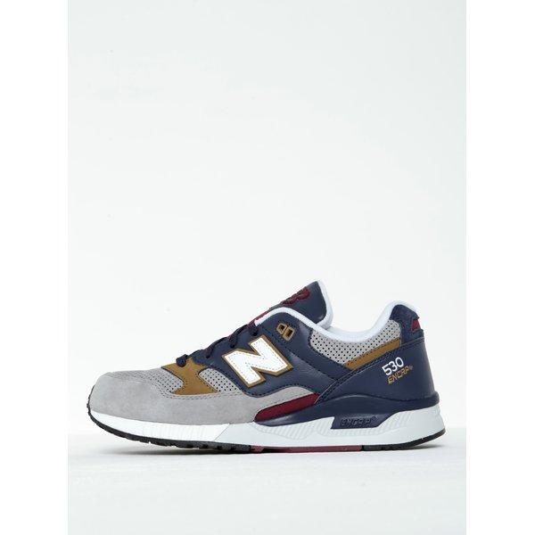 Pantofi sport albastru cu gri pentru bărbați - New Balance 530 ENCRP