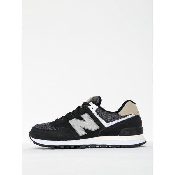 Pantofi gri cu negru pentru bărbați - New Balance 574