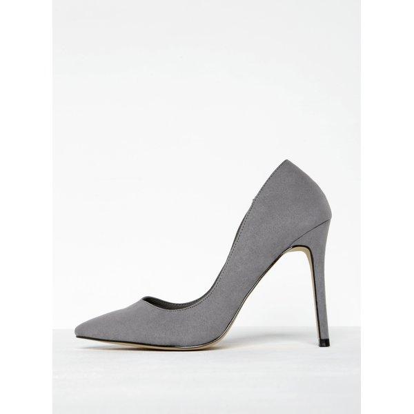 Pantofi stiletto gri cu vârf ascuțit - Miss Selfridge