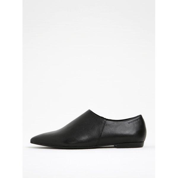 Pantofi negri din piele Vagabond Katlin