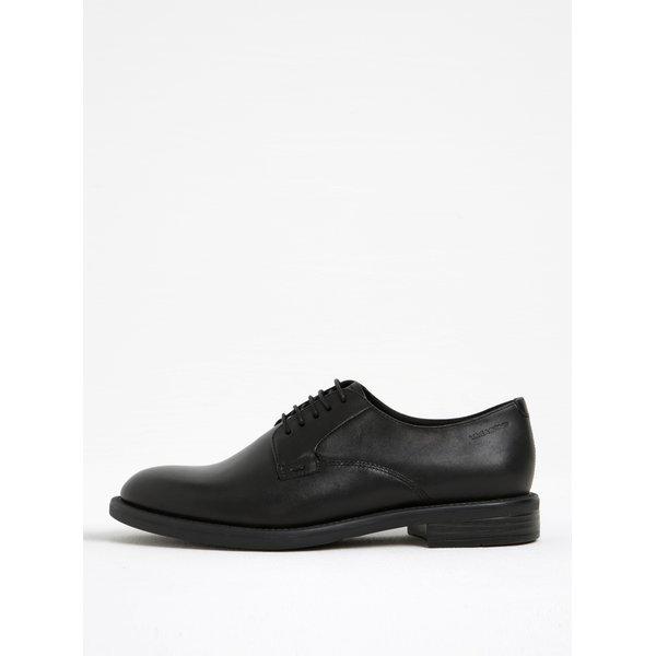 Pantofi oxford negri din piele Vagabond Amina