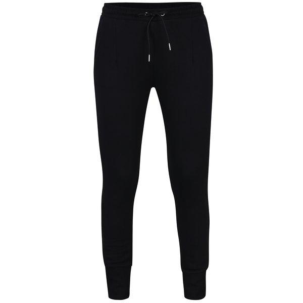 Pantaloni sport negri cu vipuscă - VERO MODA Aida