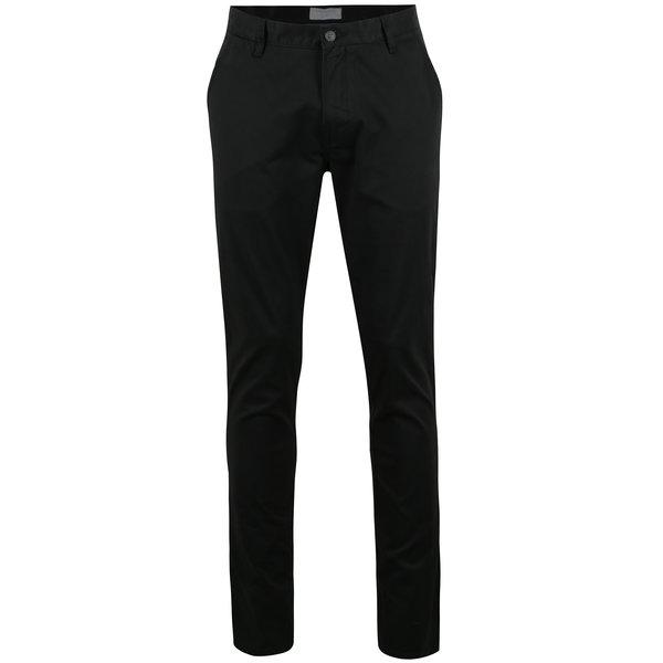 Pantaloni chino negri - Lindbergh