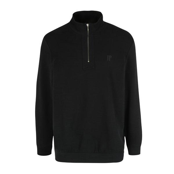 Pulover negru cu fermoar pentru bărbați JP 1880